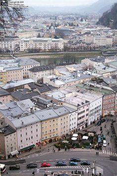 Herbert-von-Karajan Platz Salzburg, Austria