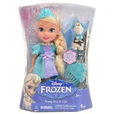 Elsa, filha mais velha do rei e da rainha de Arendelle, nasceu com a capacidade mágica de criar gelo e neve. Para não prejudicar mais ninguém, Elsa isola-se em um castelo de gelo criada por si própria após deixar seus poderes livres. A Princesa Anna sai em sua busca para levá-la até Arendelle para trazer de volta o verão e assim reinarem com muito amor e alegria! Após sua transformação, Elsa se torna uma Rainha linda e cheia de estilo.
