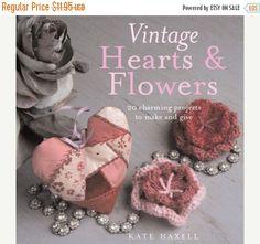CLEARANCE Vintage Hearts & Flowers: 18 by TattercoatsBooks on Etsy
