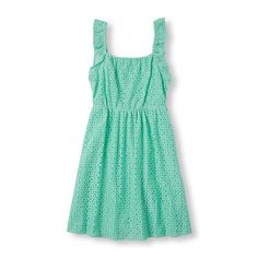 The Childrens Place Girls Summer Dress - Size 5/6- Vespa Blue