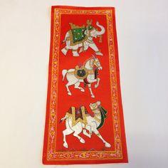 Rajasthani Hand Paintings on Pure Silk