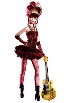 Hard Rock Cafe Barbie 2008