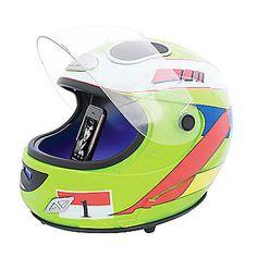 Helmet MP3 Lime Green Speaker Dock - Love your motor sports...love this! £99.