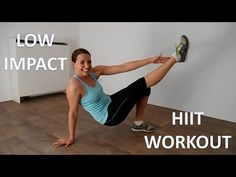 20 Minute Low Impact Cardio and Strength HIIT Workout - YouTube