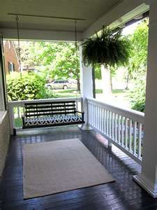 Ain't nothin like country livin and a front porch swing.  We called it a swang.