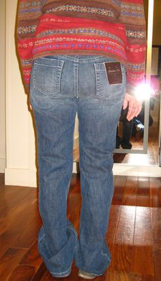For those of us over 50.... New Studies Prove that Replacing Mom Jeans Can Result in Surgery-Free Liposuction. ~from Grasping for Objectivity
