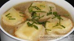 Sýrové krutony do polévky Cantaloupe, Soup, Fruit, Ethnic Recipes, The Fruit, Soups, Soup Appetizers