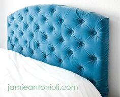 DIY Tufted Headboard DIY home furniture