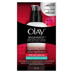 Olay Regenerist Regenerating Lightweight Moisturization Face Serum, Fragrance-Free 1.7 fl oz : Target