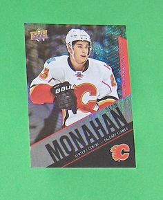 Sean Monahan Base Card #23 2015-16 Tim Hortons Upper Deck Hockey #CalgaryFlames