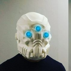 Something we liked from Instagram! This is the completed version of the Mask of The Third Man from Bungie's Destiny 3D modeled by Lloyd Roberts  that I am currently printing. I have 3 pieces left before I can assemble and paint!! #destiny #bungie #hunter #videogames #rpg #cosplay #cosplayer #cosplayers #cosplayersofinstagram #cosplaying #prop #replica #helmet #3dprint #3dprinting #3dprinter by kriptikfate check us out: http://bit.ly/1KyLetq