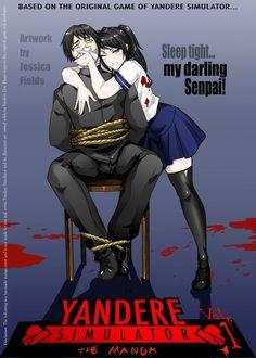 Yandere Simulator Manga Cover by blacktigressassassin.deviantart.com on @DeviantArt