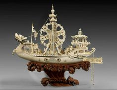 CHINESE IVORY CARVING | ... , от decoro - украшаю: CHINESE HAND CARVED IVORY