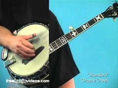Banjo Lesson: Beginner Rolls - YouTube