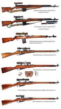 Снайперские винтовки СССР Великой Отечественной Войны