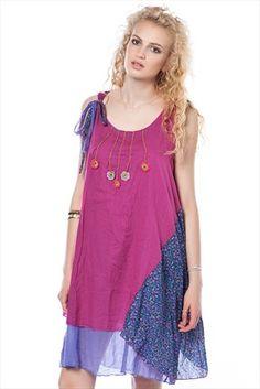 Etnik Seçimler - Kadın Tekstil - Fuşya Elbise 111514 %78 indirimle 69,99TL ile Trendyol da
