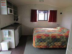 Interior - Studio Plus Unit, Cosy Corner Holiday Park, Mt Maunganui, NZ