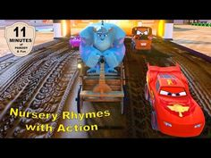 ???Monsters Inc's Sulley Fun Action for Children with Nursery Rhymes