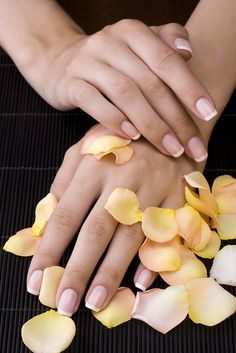 Come try the Perfect 10 spa manicure