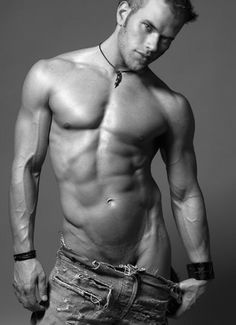 Kellan Lutz..he looks good but some ink would make him hotter in my book... oh my gah