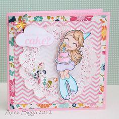Did somone say cake? by Anna Sigga using Big Wishes Mae