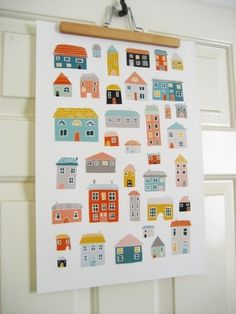 Houses via Etsy