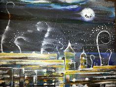 Málaga at the night
