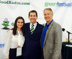 Thanks to Green Is Good for all the great interviews! #NYC #greenfestexpo