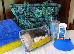 MAY DAYS: How To Pack A Ready-To-Go Beach Bag