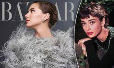 Audrey Hepburn's granddaughter Emma Ferrer on cover of Harper's Bazaar