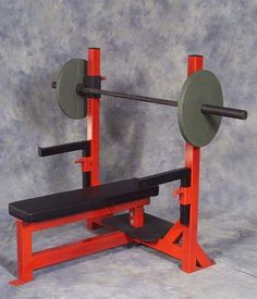As you gain in strength, you lower the depth of the chest pad that you touch or rest on. Adjustable dept of chest pad from 80 degrees to flat in adjustments. Sports Equipment, No Equipment Workout, Fitness Equipment, Bodybuilding Equipment, Dream Gym, Free Weights, Muscle Building Workouts, Bench Press, Welding Projects