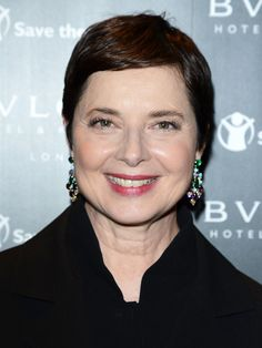 "Sixty doesn't have to mean it's time to settle for ""grandmother"" hair. (Unless of course your grandmother happens to be Isabella Rossellini). Here are five stylish haircuts to belie, but still honor, your age."