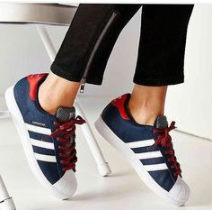 Adidas Women Shoes - Tendance Chausseurs Femme 2017 adidas Superstar Varsity Jacket Pack Sneaker Urban Outfitters - We reveal the news in sneakers for spring summer 2017 Adidas Shoes Women, Adidas Sneakers, Cute Shoes, Me Too Shoes, Trendy Womens Sneakers, Sneaker Women, T Shirt Pink, Baskets Adidas, Basket Mode