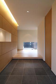 Japanese Modern House, Japanese Interior Design, Interior Modern, Bedroom Minimalist, Minimalist Home, Bedroom Modern, Minimalist Interior, Entrance Design, House Entrance