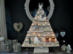 kerstboom hout planken - Google zoeken