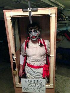 Annabelle doll costume box idea