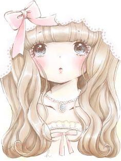 Images and videos of manga girl Illustrations, Manga Illustration, Kawaii Art, Kawaii Anime, Kawaii Stuff, Anime Artwork, Cute Characters, Manga Girl, Anime Girls