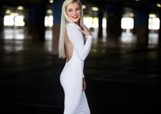 Karlien van Jaarsveld's White Dress Barbies Pics, White Dress, High Neck Dress, Van, Celebs, Couture, Outfits, Clothes, Shopping