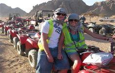 Sari Express Travel » Desert Safari trip near the Pyramids by Quad bike