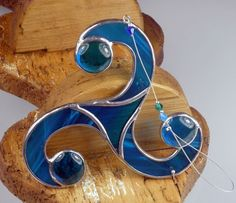 Stained+glass+Celtic+Threefold+Suncatcher++by+RainbowStainedGlass,+€16.00