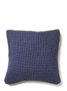 Cosy Waffle Knit Cushion - cushions  - Home & Lighting