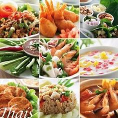 thais eten kippeballetjes in zoetzure saus