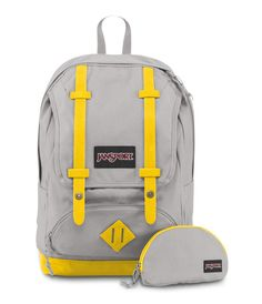 Jansport Baughman Backpack - Grey Rabbit
