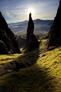 The Needle, Quiraing, Isle of Skye, Scotland