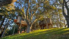 Big Sur Tree House. This Inn has stunning views from every room & house!