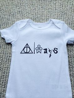 Always Harry Potter Severus Snape Theme Baby Grow  by MinnieMadeit