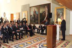 """Entrega del Premio """"Bernardo de Gálvez"""": Intervención del embajador de España en los EE.UU., Ramón Gil-Casares. Residencia del Embajador de España en EE.UU. Washington D.C. (EE.UU.), 02.03.2015"""