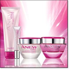 Starting in Avon Campaign 21 2014, you will be able to buy the Anew Vitale cleanser, eye gel cream, day cream, and night cream! Read reviews, check for sales, and buy Anew Vitale products online at http://eseagren.avonrepresentative.com