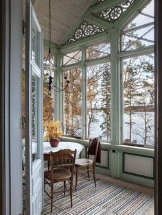4 Startling Tips: Interior Painting Fixer Upper interior painting ideas design trends.Interior Painting Design Wall Colors interior painting trends home. Patio Interior, Interior And Exterior, Interior Design, Interior Stylist, Future House, Enclosed Porches, Architecture, My Dream Home, Dream Homes