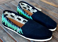 Moccasin TOMS shoes by BStreetShoes on Etsy, $149.00